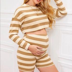 SHEIN maternity outfit